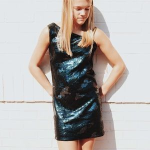 Khaki Camo Sequined Girls Party Dress*Age 16 $135